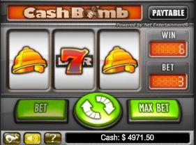 cash bomb classic slot