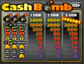 cash bomb mini game