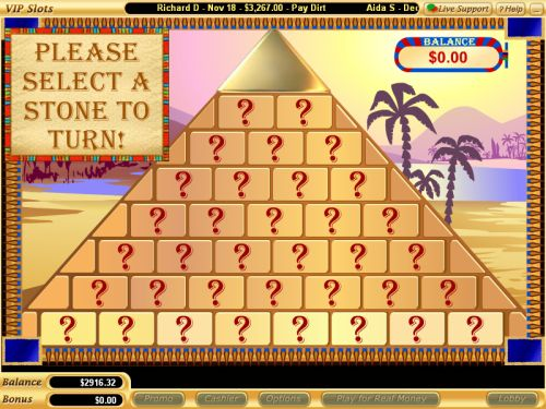 cleopatras pyramid flash game
