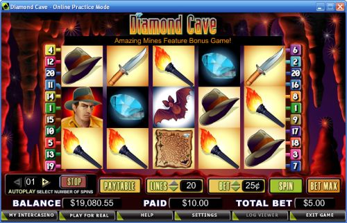 diamond cave video slot