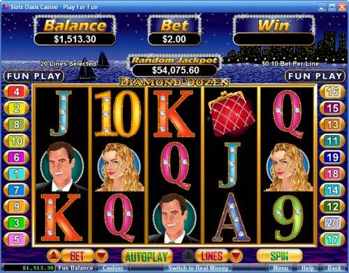 Diamond Dozen Slot Machine Online ᐈ RTG™ Casino Slots