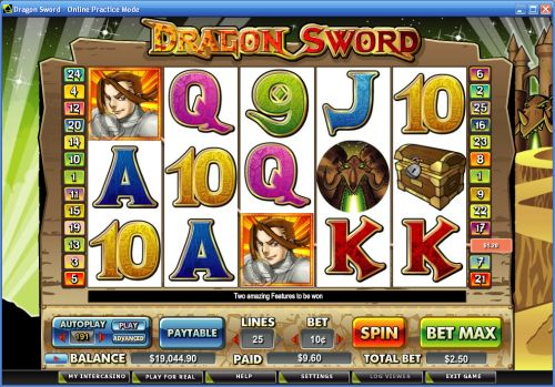 dragon sword video slot