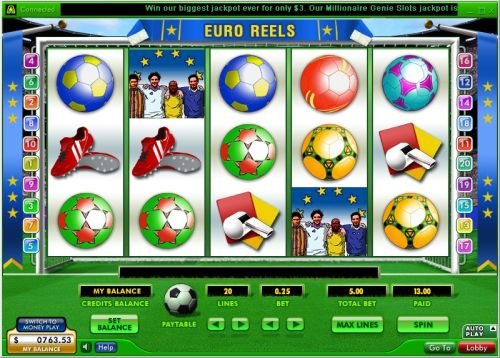 euro reels video slot