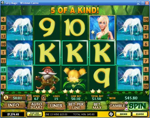 fairy magic video slot