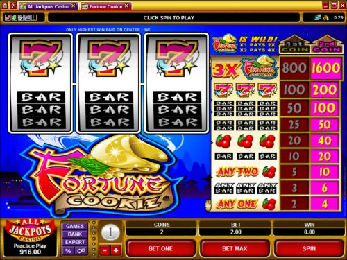 fortune cookie microgaming slot