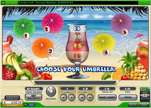 freaky fruit casino flash game