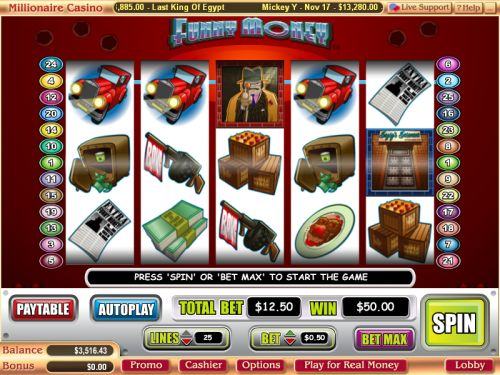 funny money video slot