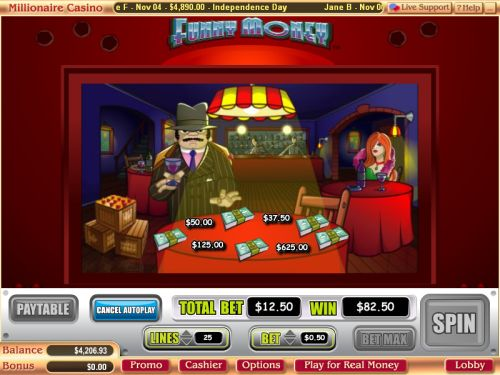 funny money flash game