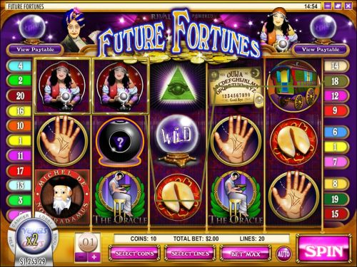future fortunes video slot