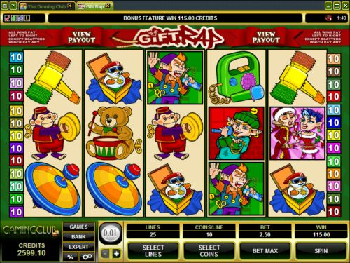 gift rap video slot