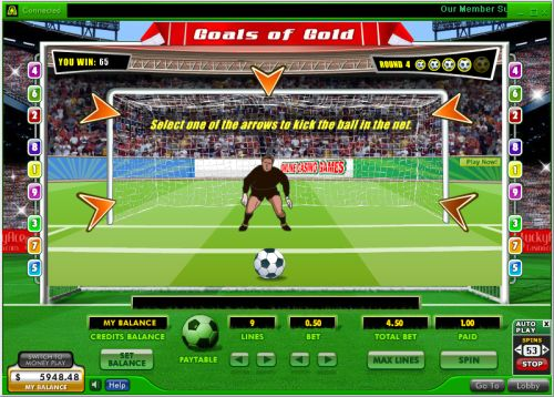 goals of gold video slot