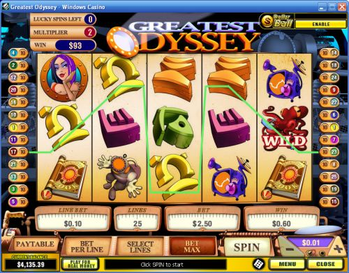 greatest odyssey video slot