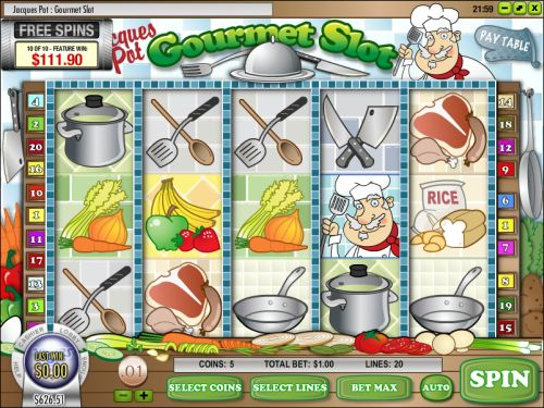Jacques Pot Gourmet Slot Machine - Play for Free Online