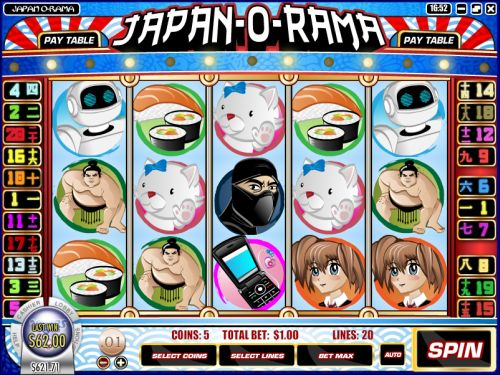 japan o rama interactive slot