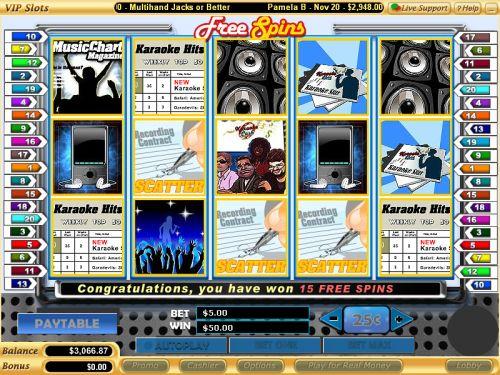 karaoke cash video slot
