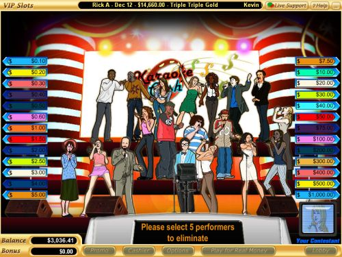 karaoke flash game