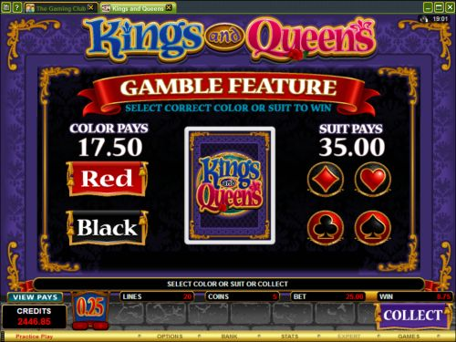 kings and queens casino flash game