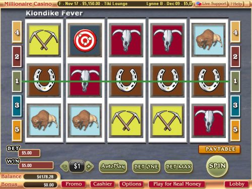 klondike fever video slot