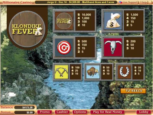 klondike casino game