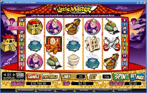 little master video slot