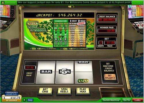 mega gold progressive jackpot slot