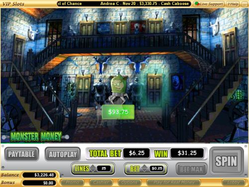 monster money flash game