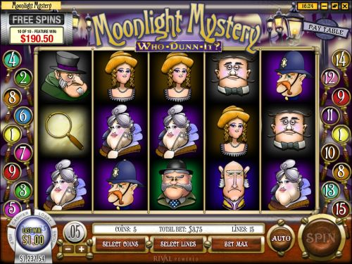 Moonlight Mystery Slot Machine Online ᐈ Rival™ Casino Slots