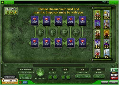 fortune teller flash game