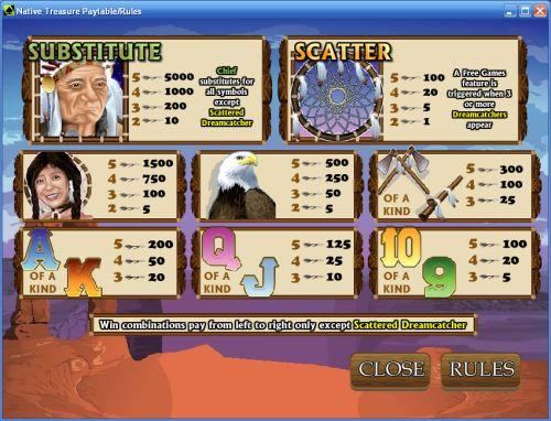 native treasure flash game