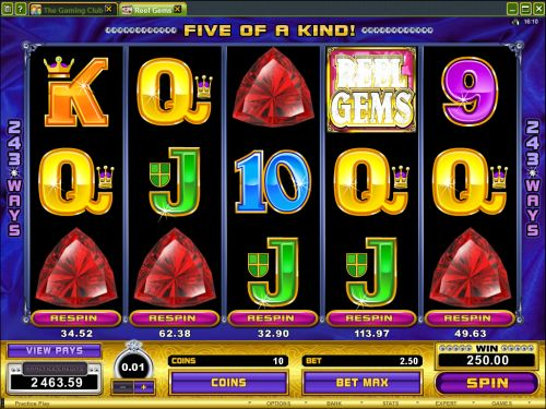 reel gems video slot