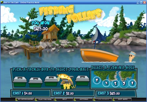 reel in the cash casino flash game
