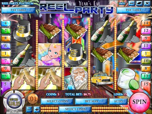 reel party platinum video slot