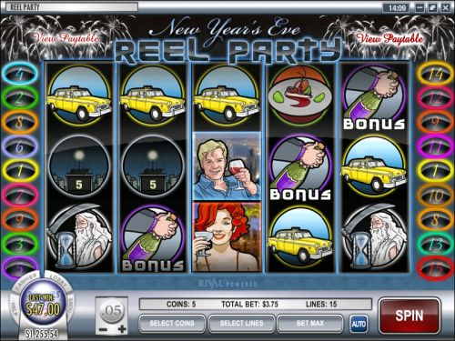 reel party rival video slot