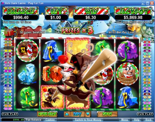 Spiele Return Of The Rudolph - Video Slots Online