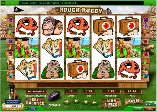 rough rugby video slot