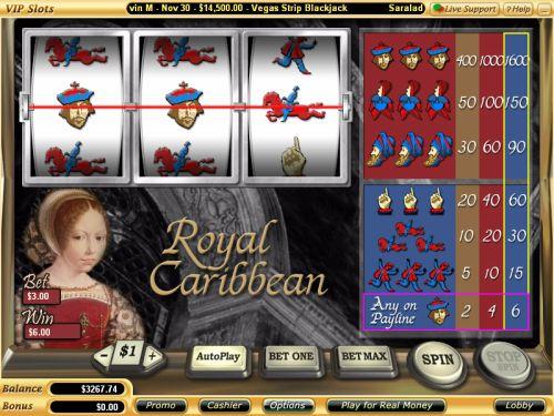royal caribbean classic slot