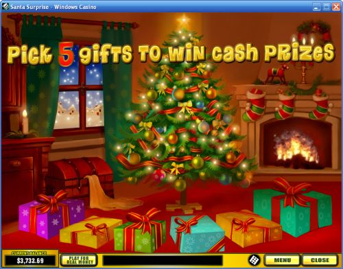 santa flash game play