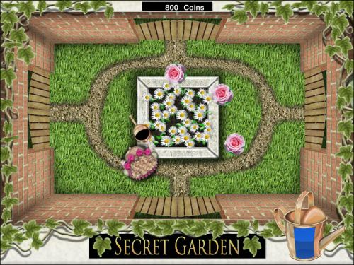 secret garden flash game