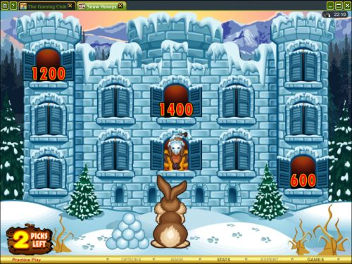 snow honeys casino flash game