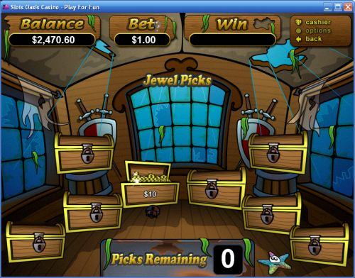 sunken treasure pirate flash game