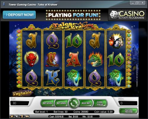 tales of krakow video slot