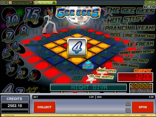 gee gees casino game
