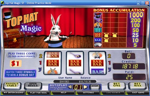 top hat magic crypto slot