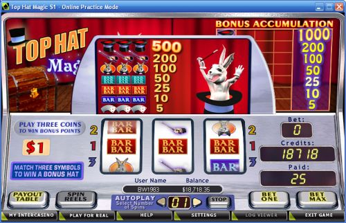 magic casino flash game