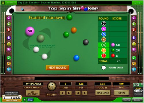 snooker casino game