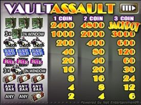 vault assault flash game