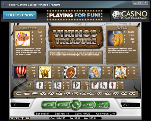 vikings treasure flash game