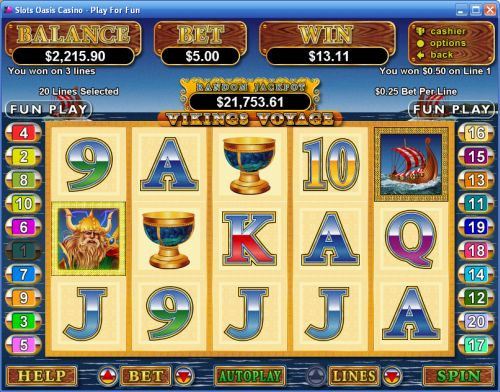 vikings voyage video slot