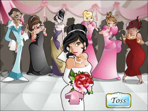wacky wedding casino flash game