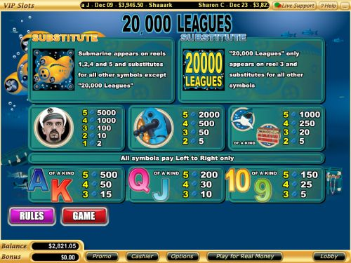 20000 leagues flash game